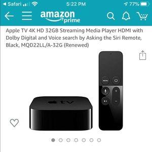 Apple TV 4K brand new still sealed